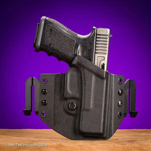 Glock 17-19-23-26-27 or 21 OWB Holster