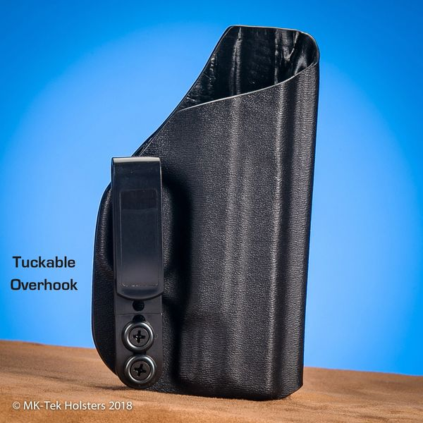 S&W Shield Inside the Waistband Holster  Tuckable Overhook  Adjustable  Retention
