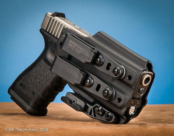 Glock 19 w Olight PL Mini IWB Holster