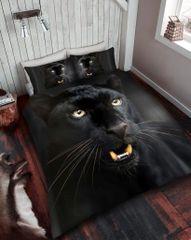 3D print Black Panther cotton blend duvet cover
