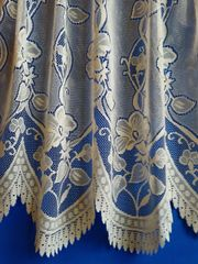 Andrea cream net curtains