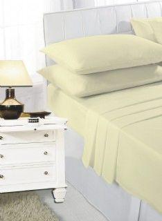 Lemon fitted sheet