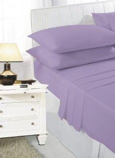 Lilac flat sheet