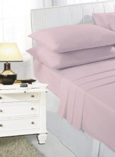 Pink flat sheet