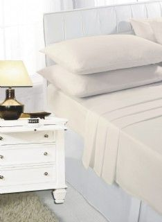 Cream pillow cases