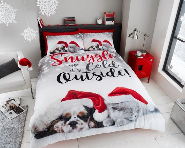 Christmas Pals single duvet cover