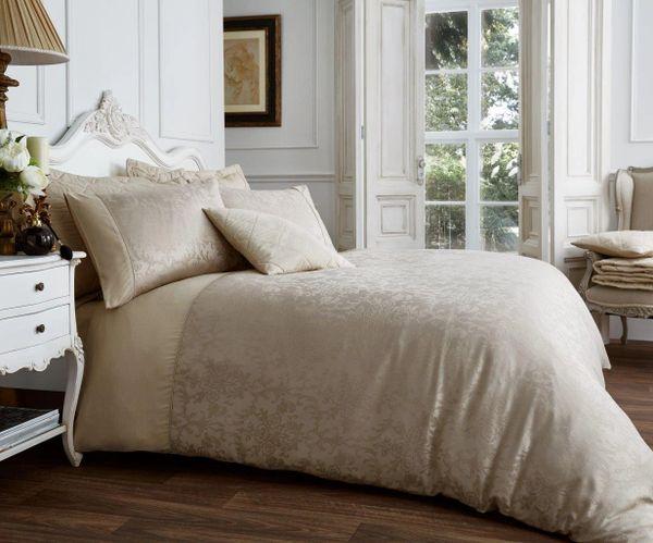 Vincenza mink cotton blend duvet cover