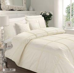 Hamlet cream cotton blend duvet cover