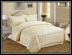 Betty cream 3 piece bedspread