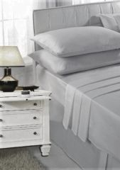 Silver grey pillow cases