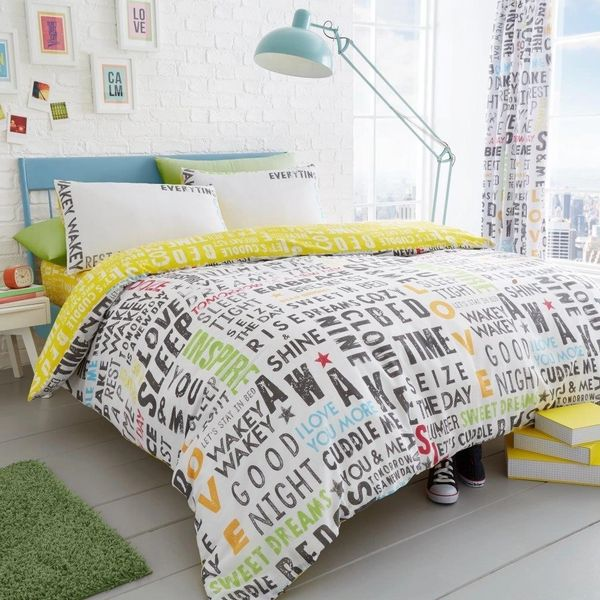Lucas cotton blend duvet cover