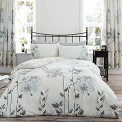 Camilla natural cotton blend duvet cover