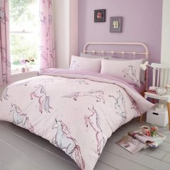 Star Unicorn cotton blend duvet cover