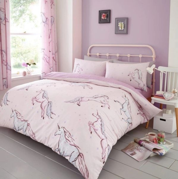 Star Unicorn duvet cover