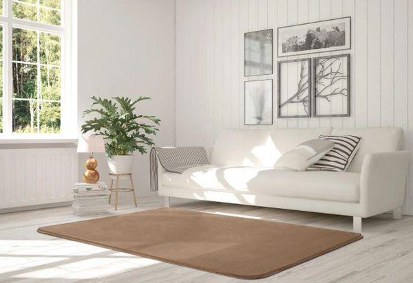 Velvet mink rug