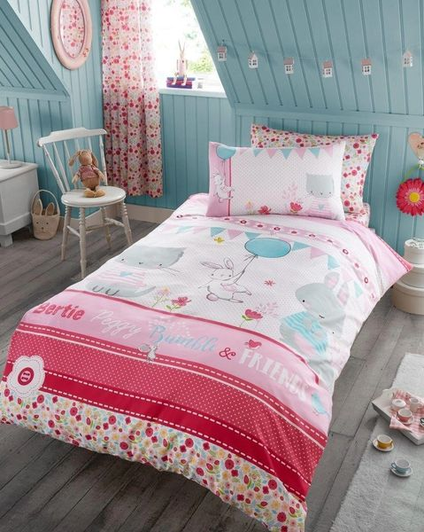 Bertie & Friends duvet cover