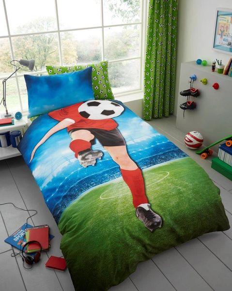Football duvet cover