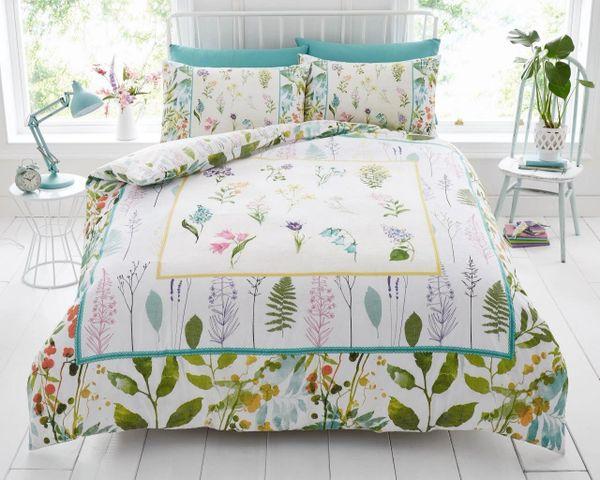 Botanical duvet cover