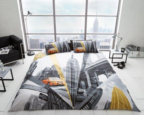 Fifth Avenue cotton blend duvet cover