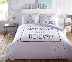 Namastay cotton blend duvet cover