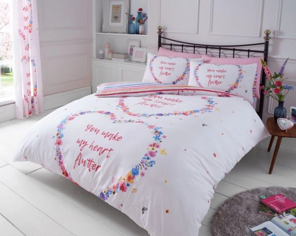 Flutter multi duvet cover