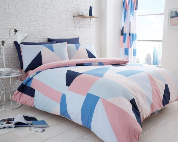Sydney blue duvet cover