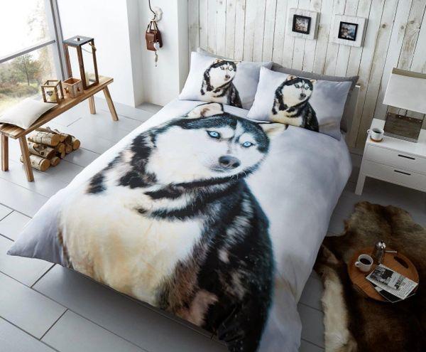 3D print Husky cotton blend duvet cover