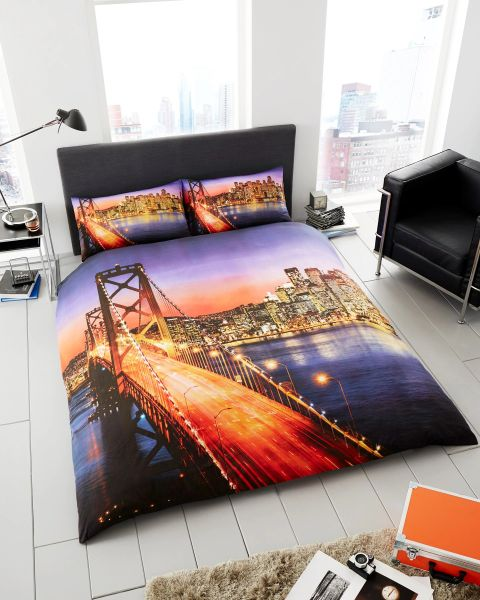 3D print San Francisco duvet cover