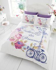 Follow Your Dreams cotton blend duvet cover