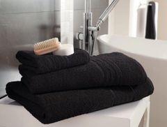 Hampton black Egyptian Cotton towels