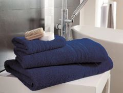 Hampton blue Egyptian Cotton towels