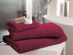 Hampton hot pink Egyptian Cotton towels