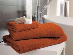 Hampton orange Egyptian Cotton towels