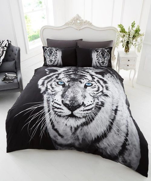 3D print White Tiger duvet cover