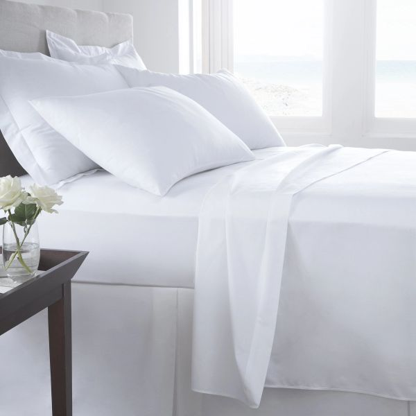 White Egyptian Cotton 400 TC extra deep fitted sheet