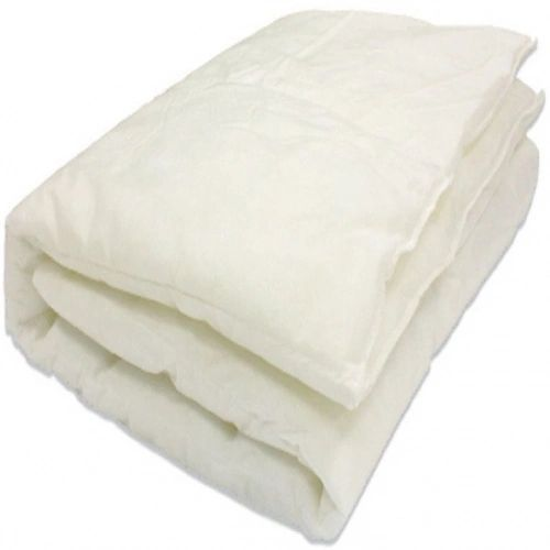 Light summer 4.5 tog cotton blend hollowfibre duvet