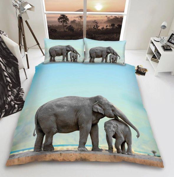 3D print Elephant duvet cover
