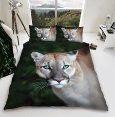 3D print Puma cotton blend duvet cover