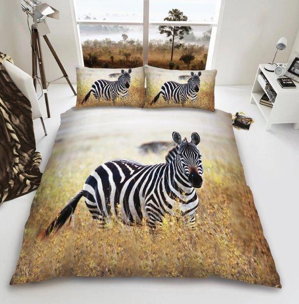 3D print Zebra duvet cover