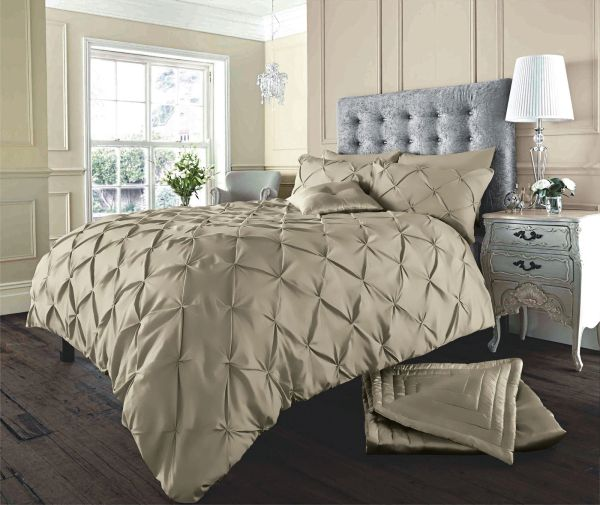 Alford latte duvet cover