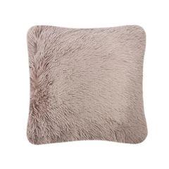 Fluffy fur mink cushion cover