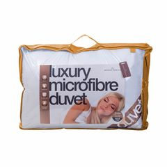 Luxury feels like down microfibre 13.5 tog duvet