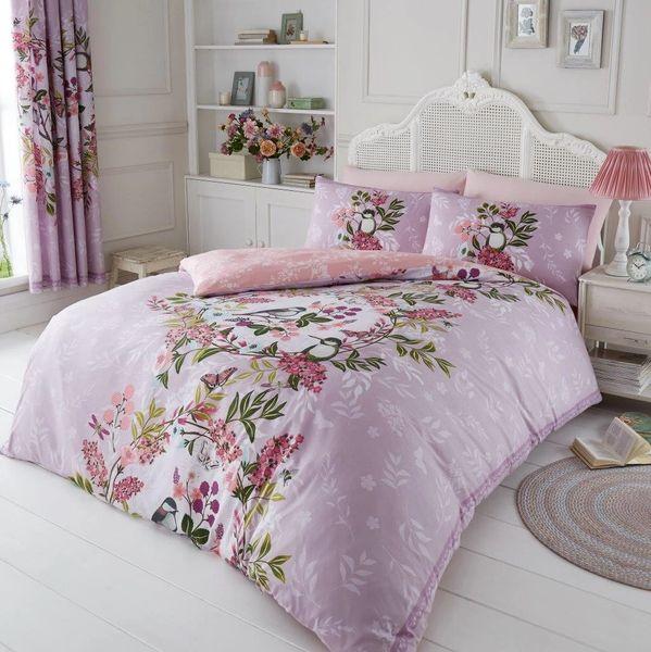 Wisteria lilac duvet cover
