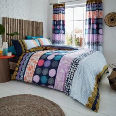 Anouk bright cotton blend duvet cover