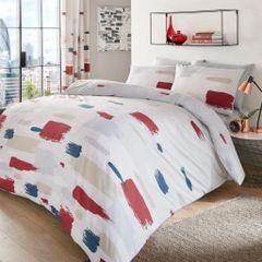Jonah natural cotton blend duvet cover