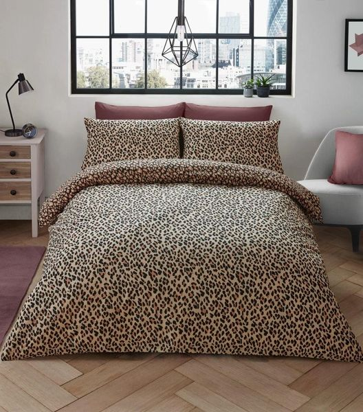 Leopard Skin beige duvet cover