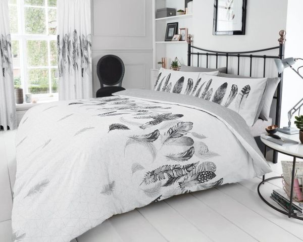 Feathers white duvet cover
