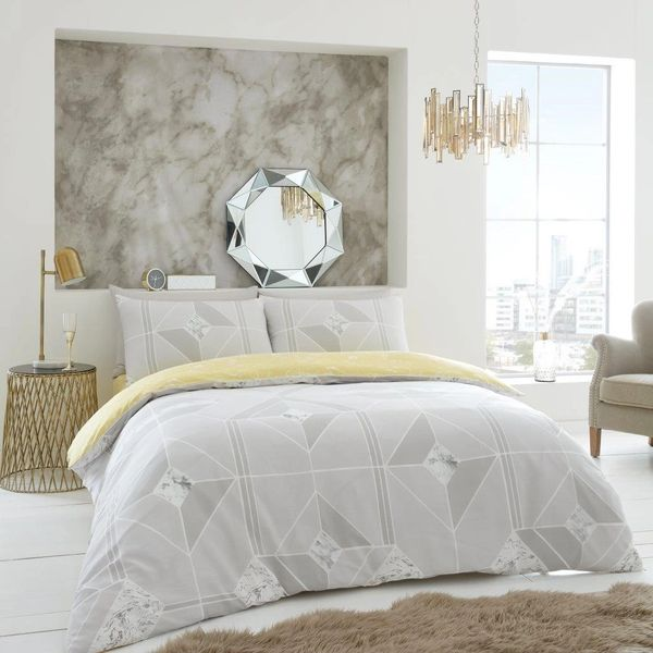Harmony grey duvet cover