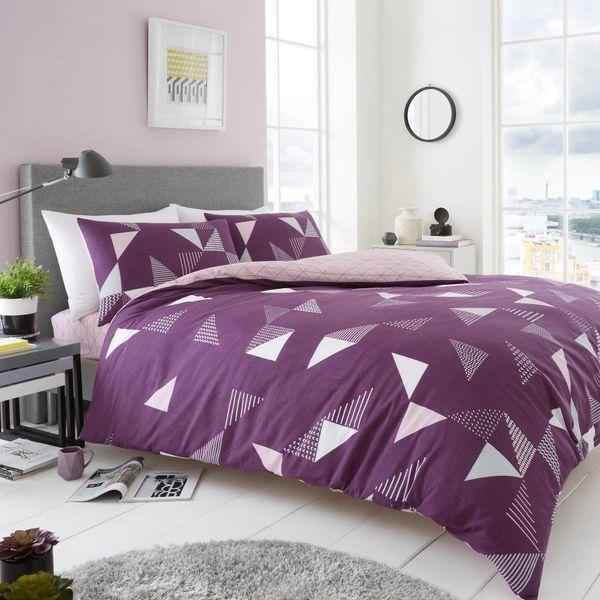 Marco purple duvet cover