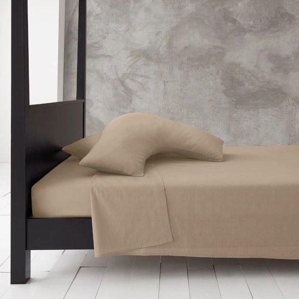Natural v shaped pillow case